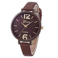 Стильні жіночі годинники для ділових дівчат (Кава)