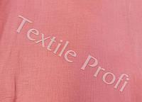Льняная сорочечная ткань (кораллового цвета)
