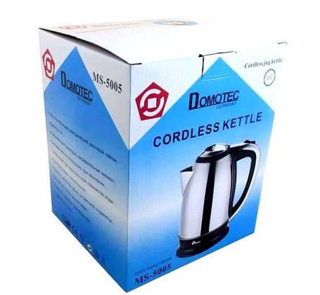 Электрический чайник Domotec DT, фото 2