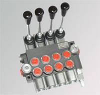 02P40 1A1A1 GKZ1 Гидрораспределитель Р40 2х секционный 40 л/мин