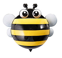 Держатель для зубных щеток и паст Пчелка (Желтый)