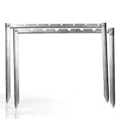 Мангал-рамка 1,5мм стальная с чехлом и шампурами