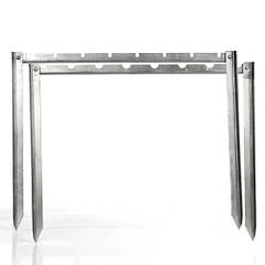 Мангал-рамка 1,5 мм нержавеющая сталь