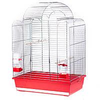 Клетка для птиц Inter Zoo SONIA III хром (54x34x75см)