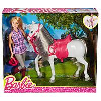 Набор Барби Прогулка верхом Barbie Doll & Horse DHB68