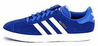 Мужские кроссовки Adidas Originals Gazelle 2 (адидас газели) синие