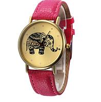 Часы наручные Слон розовые арт. 066