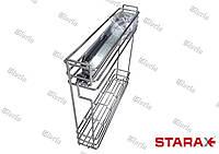 Карго 150 мм хром c боковым креплением Starax