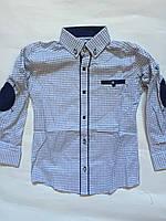 Рубашка приталенная для мальчиков  6-11лет