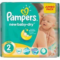 Подгузник Pampers New Baby Mini (3-6 кг), 94шт (4015400264613)