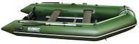 Лодка надувная Element 420 MKD PVC моторная килевая жесткий настил