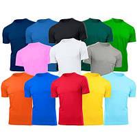 Промо футболки оптом, пошив и брендирование.