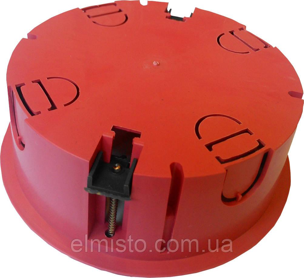 Коробка монтажная для внутренней проводки круглая диам. 120 мм h=50 мм IP30 в гипс 36шт/уп