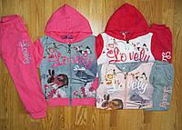 Трикотажные спортивные костюмы на девочку оптом, Active Sports, 6-36 рр., фото 1