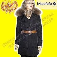 Женский брендовый пуховик MissFofo 1091 Black