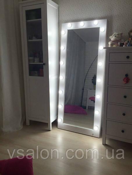 Велике дзеркало з лампами V198