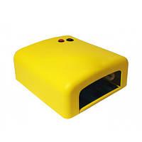 Уф лампа,  36 Вт, жёлтая