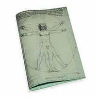 Обложка для паспорта -Витрувианский Человек-