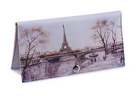 Женский кошелек -Осенний Париж-. Ручная работа