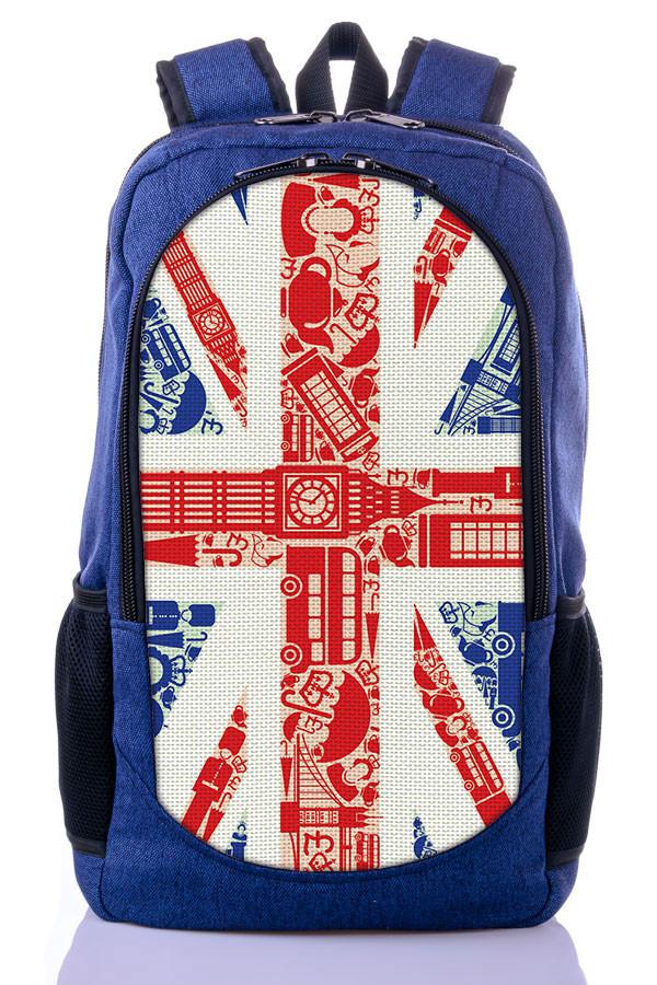 "Детский рюкзак ""Great Britain "" (синий)"