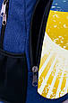 """Рюкзак """"УКРАИНА """" (синий), фото 4"""