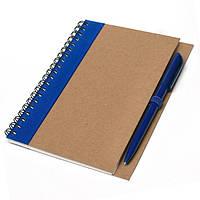 Блокнот A6 з ручкою