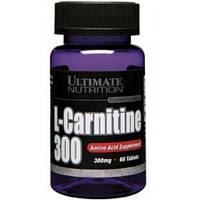 Жиросжигатель Ultimate Nutrition L-Carnitine 300 mg (60tabs)