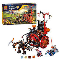 Джестро мобиль Bela 10489 Nexo Knights: 670 элементов, 2 фигурки, коробка 53х30,5х6 см, 6+ лет