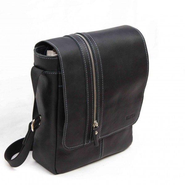73dbb6ce9cc3 Мужская сумка MK28Кaz1 VATTO кожаная черная - Интернет магазин