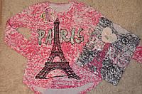 Трикотажный реглан для девочек  98-128 см, фото 1