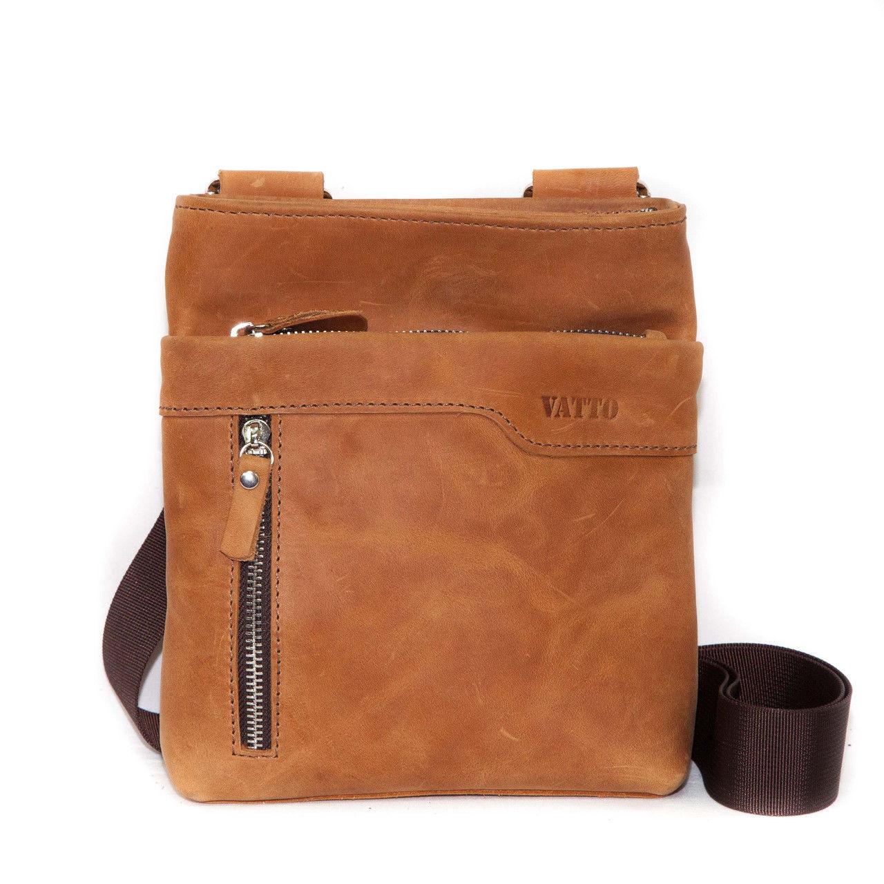 c5dce693edfd Мужская сумка Mk13Kr200 VATTO кожаная рыжая — купить в Киеве недорого