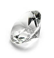 Кристалл хрустальный без подставки белый (4 см)