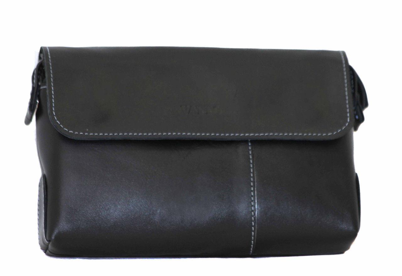 800ae3dea487 Мужской клатч MK19Kaz1 VATTO кожаный черный — купить в Киеве недорого