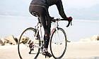 "Зимние непродуваемые утеплёные вело-штаны Sobike ""Shark"" с памперсом, фото 4"