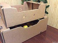 Ящик из картона виноградный/ слива/ помидор /черешня 12 кг