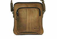 Мужская сумка Mk-48Kr200 VATTO кожаная бежевая