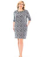 Женское платье Корона  больших размеров 50, 52, 54, 56 ,   купить , фото 1