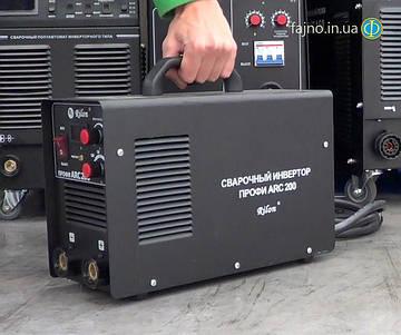 Інверторний зварювальний апарат Rilon ARC 200 Профі