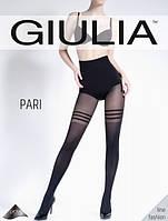 Женские колготки с имитацией чулок с полосками Pari 60 (модель 24)