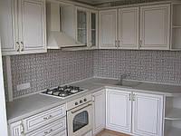 Кухня классика МДФ с патиной, фото 1