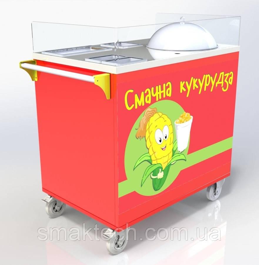 Тележка для продажи вареной кукурузы ТК-2 Cornmaster - Смак-Тех в Киеве