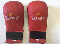 Накладки (перчатки) для карате ZELART красные L