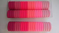 Резинки для волос диаметр 3 см (22 штуки)