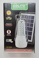 GD LITE-7666SL 36LED Светодиодный переносной Лампа-фонарь, светильник, переносной фонарь, переносное освещение