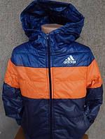 """Детская осенняя курточка """"Adidas"""" на синтепоне, 2-7 лет"""