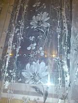 "Тюль органза накатка ""Серебряная ромашка"", фото 3"