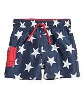 Детские пляжные шорты для мальчика   1-2 года