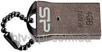 Mini Flash USB 2.0 накопитель SP Silicon Power T01 4 GB, флешка, флеш-накопитель на 4 Гб, карта памяти,компьют