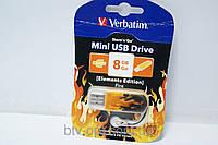 Flash USB 2.0 накопитель Verbatim-8GB, флешка, флеш-накопитель на 8 Гб, карта памяти, флешка usb