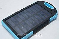 Power Bank 10000mah 2A +1A c солнечной батареей, повэр банк, солнечная батарея, аккумулятор внешний